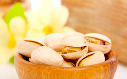 Pistachio nuts. Royalty Free Stock Photo