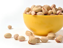 Pistachio Nuts Stock Photography