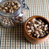 Pistachio nuts. Stock Images