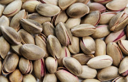 Pistachio nuts. On isolated white background Royalty Free Stock Images
