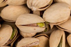 Pistachio nuts arranges as background Royalty Free Stock Photo