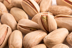 Pistachio nuts as a background Royalty Free Stock Images
