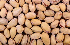 Pistachio nuts as background, healthy eating Stock Photography