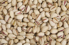 Pistachio nuts background Stock Photography