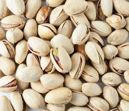 Pistachio nuts background Stock Images