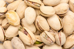 Pistachio Nuts Close Up Stock Images