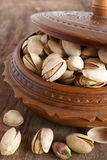 Pistachio nuts Stock Photos