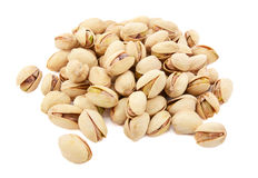 Pistachio nuts in shells Stock Photos