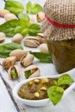 Pistachio pesto Royalty Free Stock Images