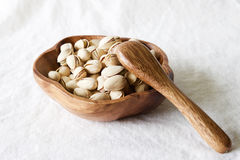 Pistachio shelled nuts Royalty Free Stock Photos