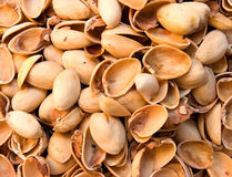 Pistachio Shells Stock Photography