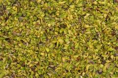 Pistachio slices Stock Photo