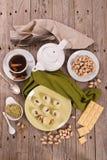 Pistachio truffles. stock photo