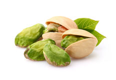 Free Pistachio With Leaves Stock Images - 42146244