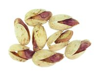 Pistachios. Close up of fresh pistachios Royalty Free Stock Images