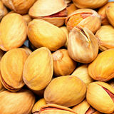 Pistachios background Stock Photography