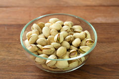 Pistachios in bowl Royalty Free Stock Photo
