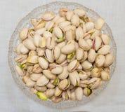 Pistachios bowl Stock Photo