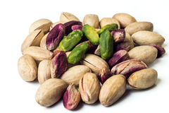 Pistachios Bronte. Pistachios green Bronte close up Royalty Free Stock Photography