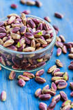 Pistachios from Bronte, Sicily Stock Images