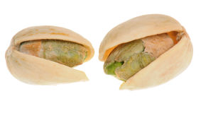 Pistachios in close-up Stock Image