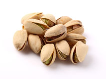 Pistachios in closeup Stock Images