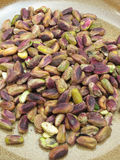 Pistachios in a dish Royalty Free Stock Photography