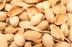 Pistachios empty  shells Royalty Free Stock Photo