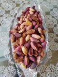 Pistachios. In glass cup Stock Photo