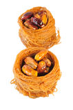 Pistachios with glaze Royalty Free Stock Photos