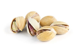 Pistachios heap Royalty Free Stock Images