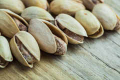 The pistachios heap Stock Photography