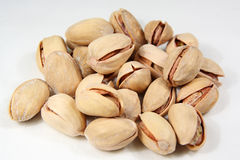 Pistachios heap Royalty Free Stock Photos