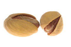 Pistachios isolated Stock Image
