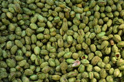 Pistachios at the market royalty free stock photos