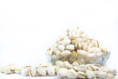 Pistachios nut with isolate background Stock Photos