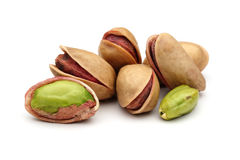 Pistachios nuts Stock Photos