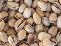 Pistachios nuts background Royalty Free Stock Photos