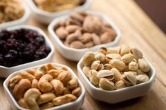 Pistachios and nuts Royalty Free Stock Image