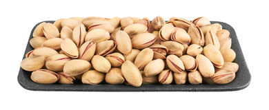 Pistachios in package Stock Image