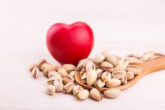 Pistachios rich in anti-oxidants good for health, keeps healthy Stock Photo