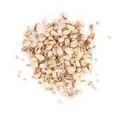 Pistachios and sunflower seeds. Royalty Free Stock Image
