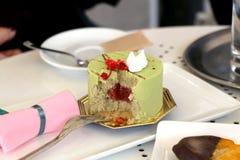 Pistacja tort Zdjęcie Stock