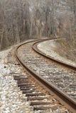 Pistas 2 del tren Fotos de archivo libres de regalías
