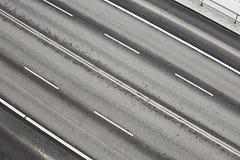 Pistas da estrada imagens de stock