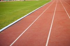 Pistas da pista de atletismo Imagem de Stock Royalty Free