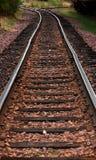 Pistas de ferrocarril Imagen de archivo