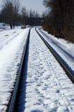 Pistas de ferrocarril Fotos de archivo