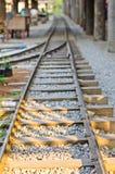 Pistas de ferrocarril. fotografía de archivo