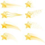 Pistas de la estrella Fotografía de archivo